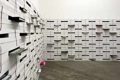 Fritz Balthaus: Wall of Books 2011